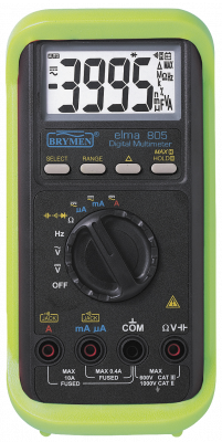 Digital multitester 805